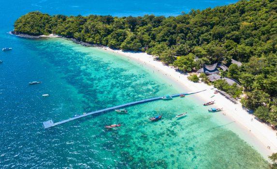 タイ コーラルアイランドの風景