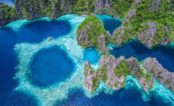 フィリピン パラワン島の風景