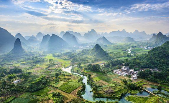 桂林の風景 中国の風景