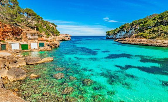 地中海 スペイン マヨルカ島の風景 スペインの風景