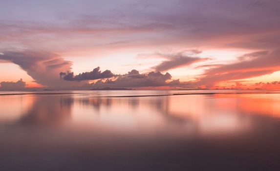 静寂のカリブ海