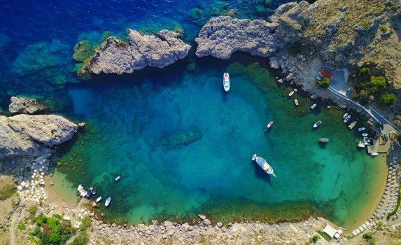 ギリシャ ドデカネス諸島 ロドス島の風景