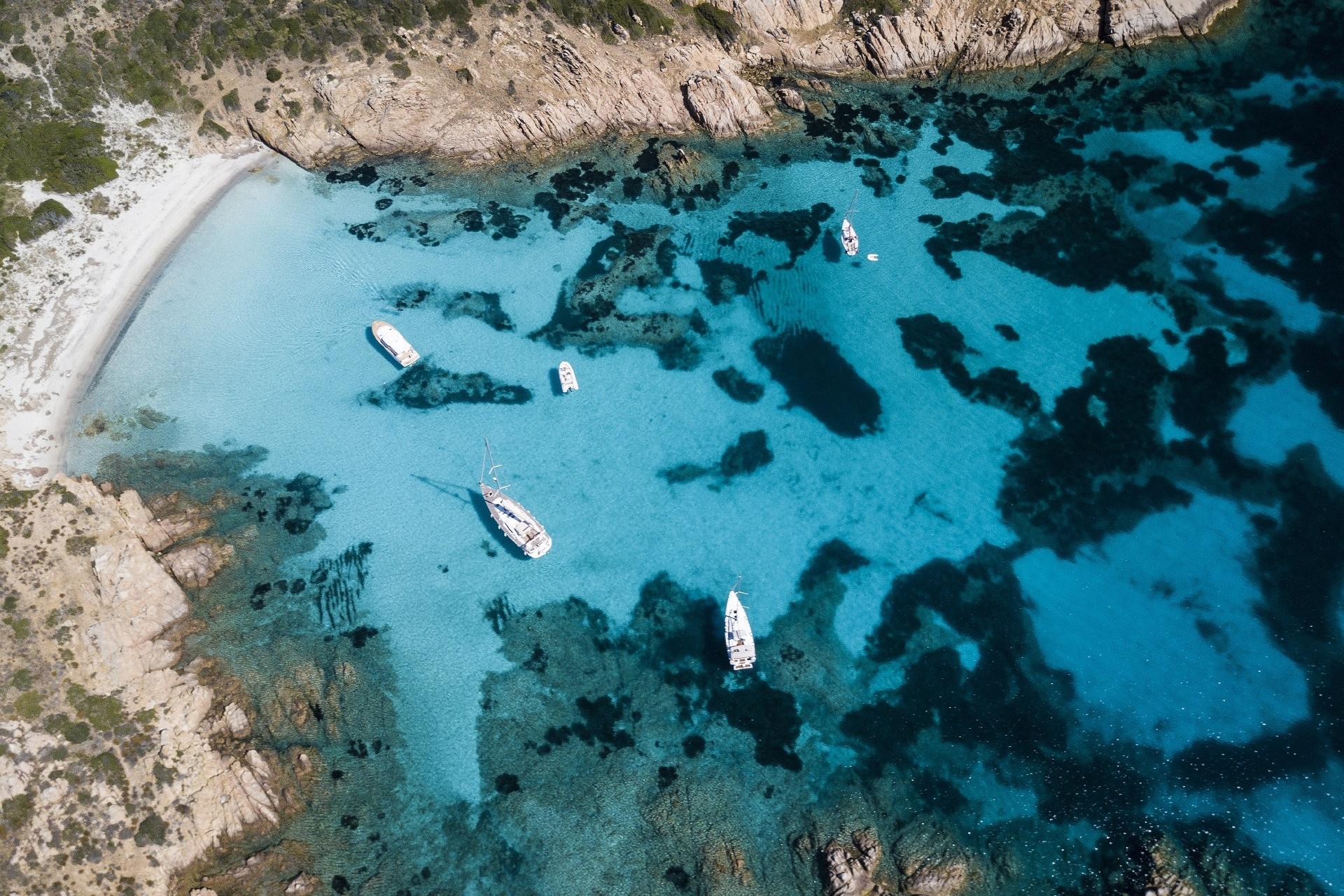 サルデーニャ モルトリオ島の風景