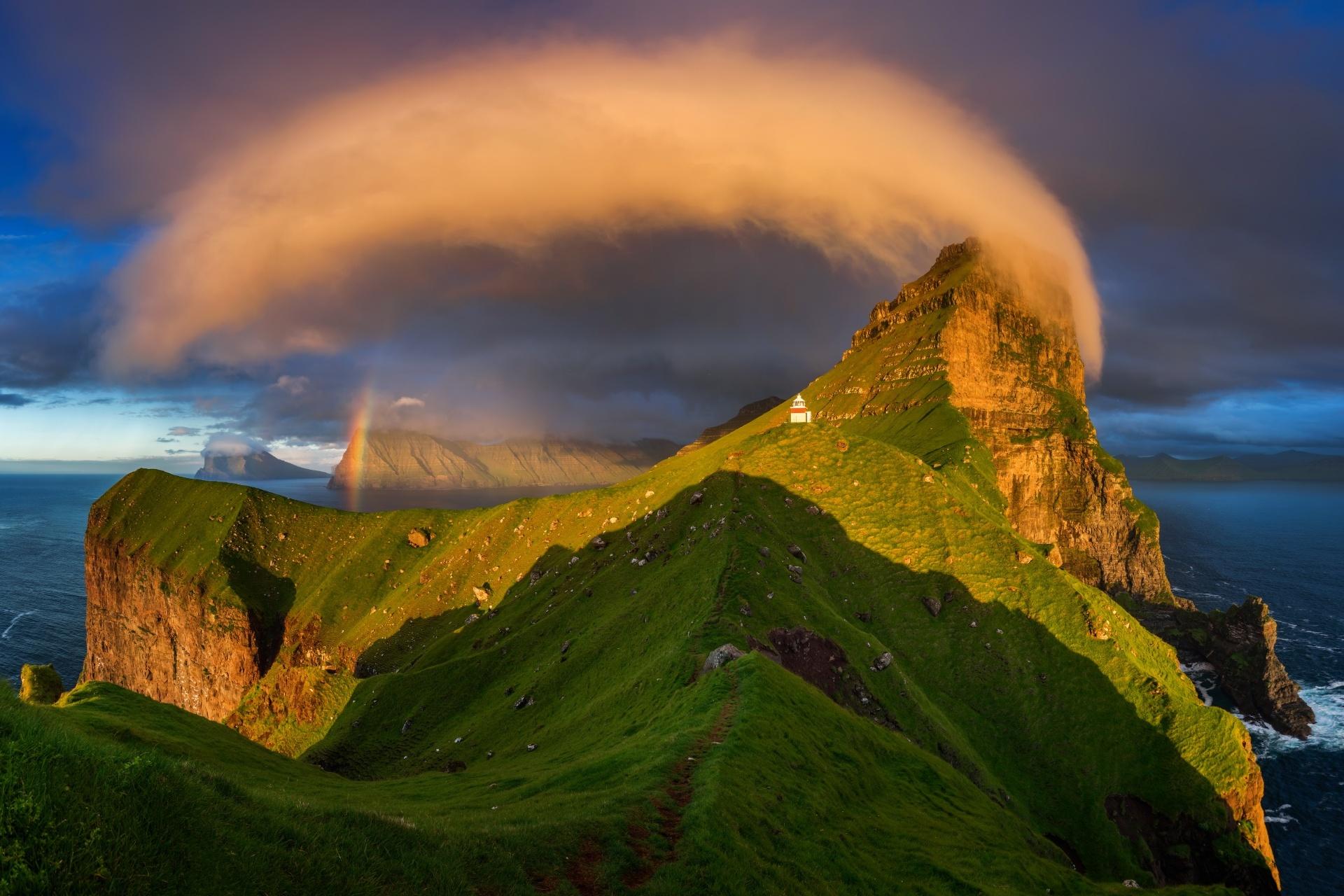 フェロー諸島 ケァルソイ島の風景 デンマークの風景