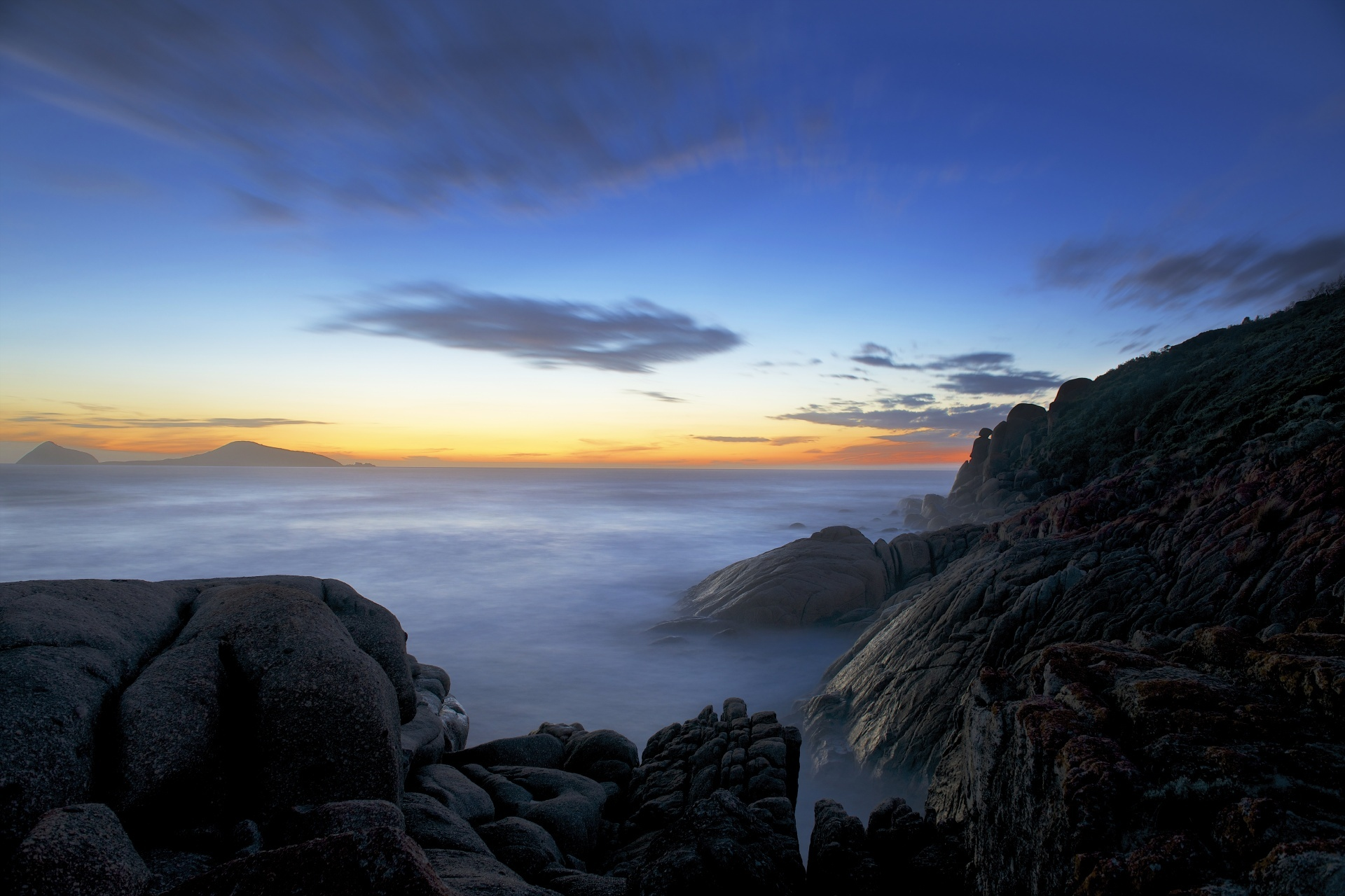 ウィルソンズ・プロモントリー国立公園 オーストラリアの風景