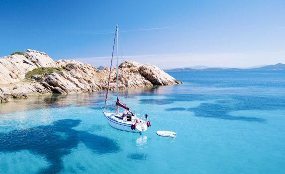 サルデーニャの海の風景 イタリアの風景