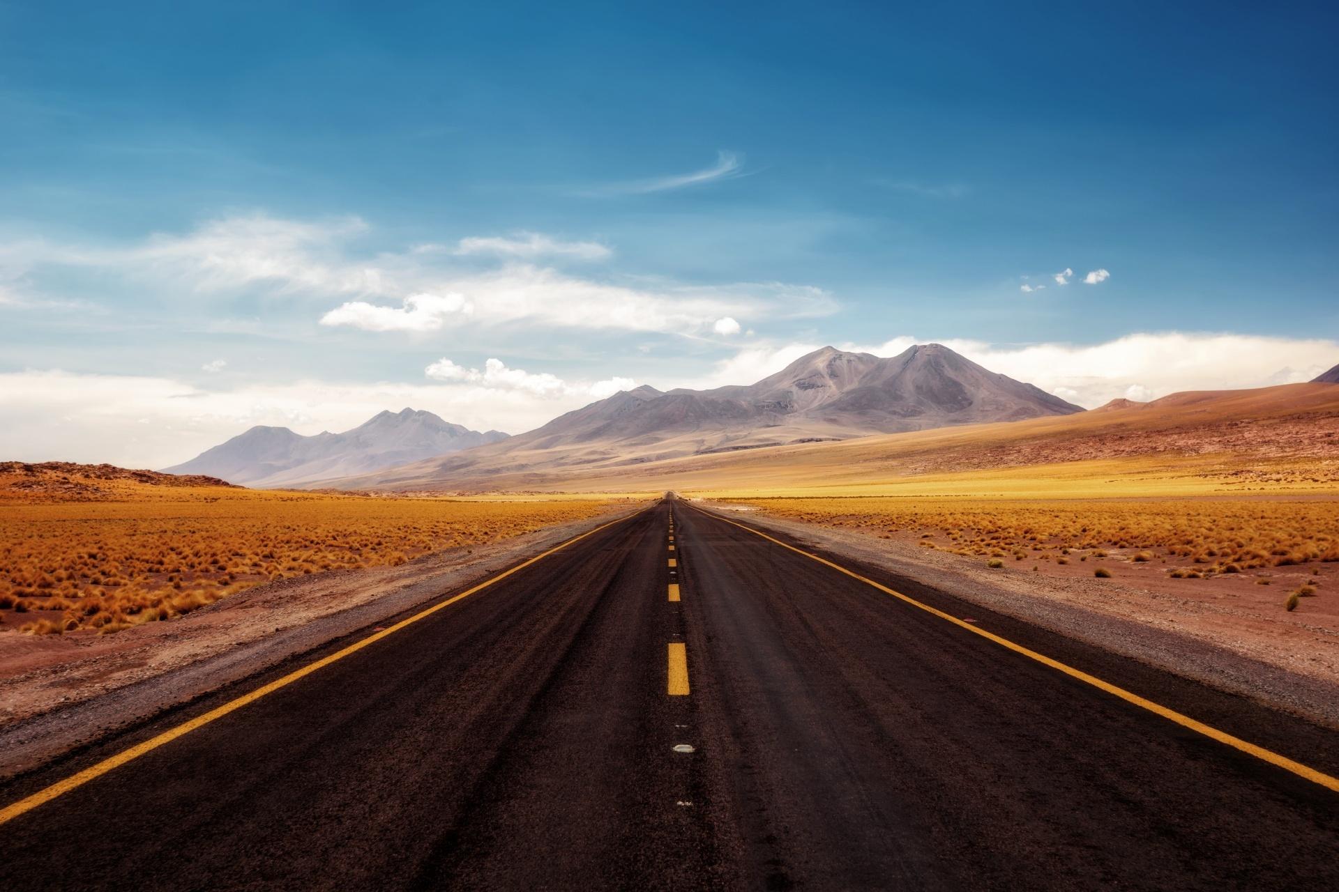 チリ アタカマ砂漠 チリの風景