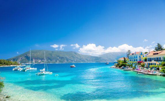 ギリシャ ケファロニア島の風景 ギリシャの風景