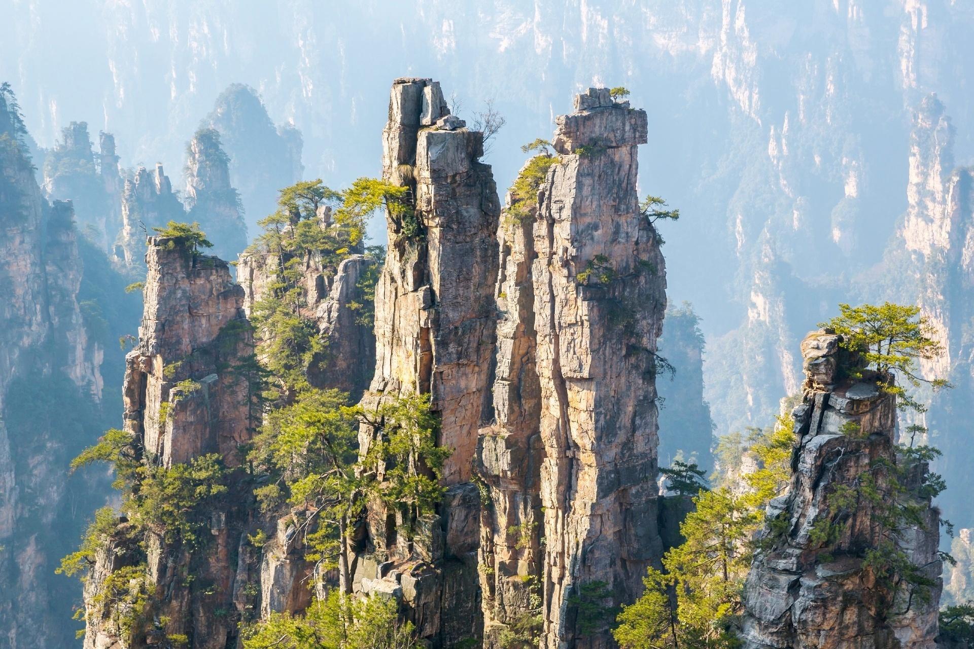 武陵源の風景 中国の風景