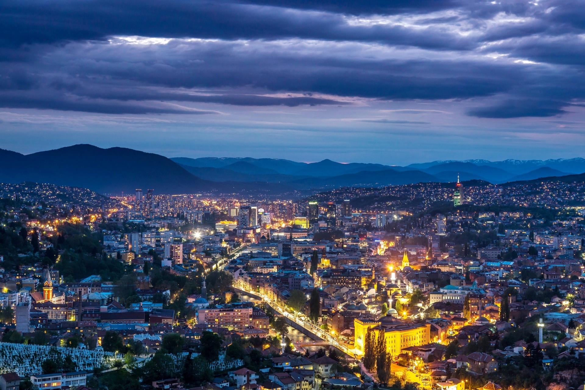 サラエボ ボスニア・ヘルツェゴビナの風景
