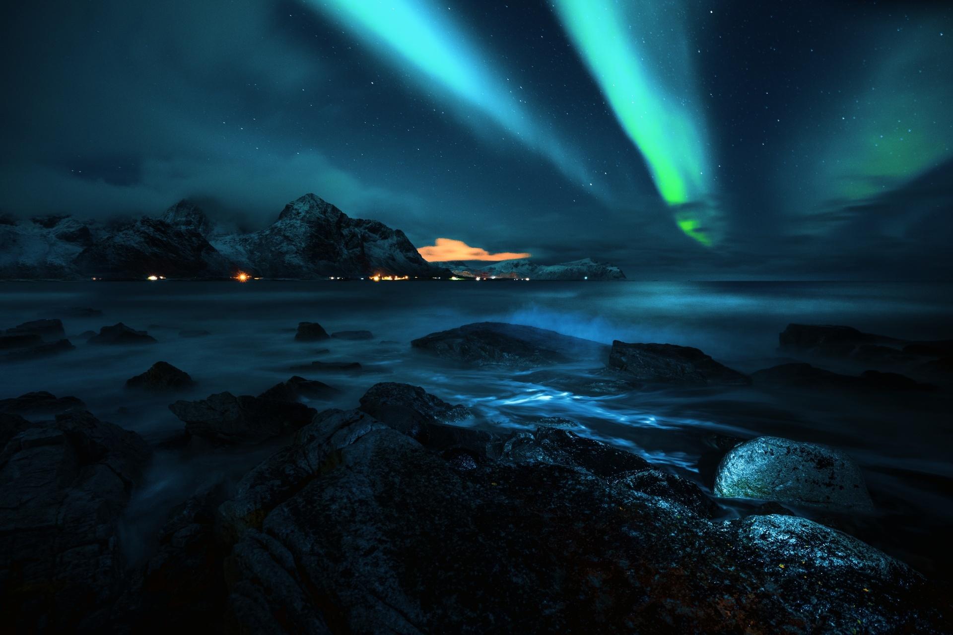 「ノーザンライツ」 アイスランドの風景
