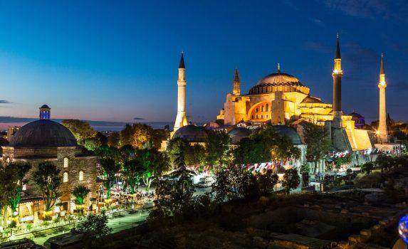 アヤソフィア イスタンブール トルコの風景