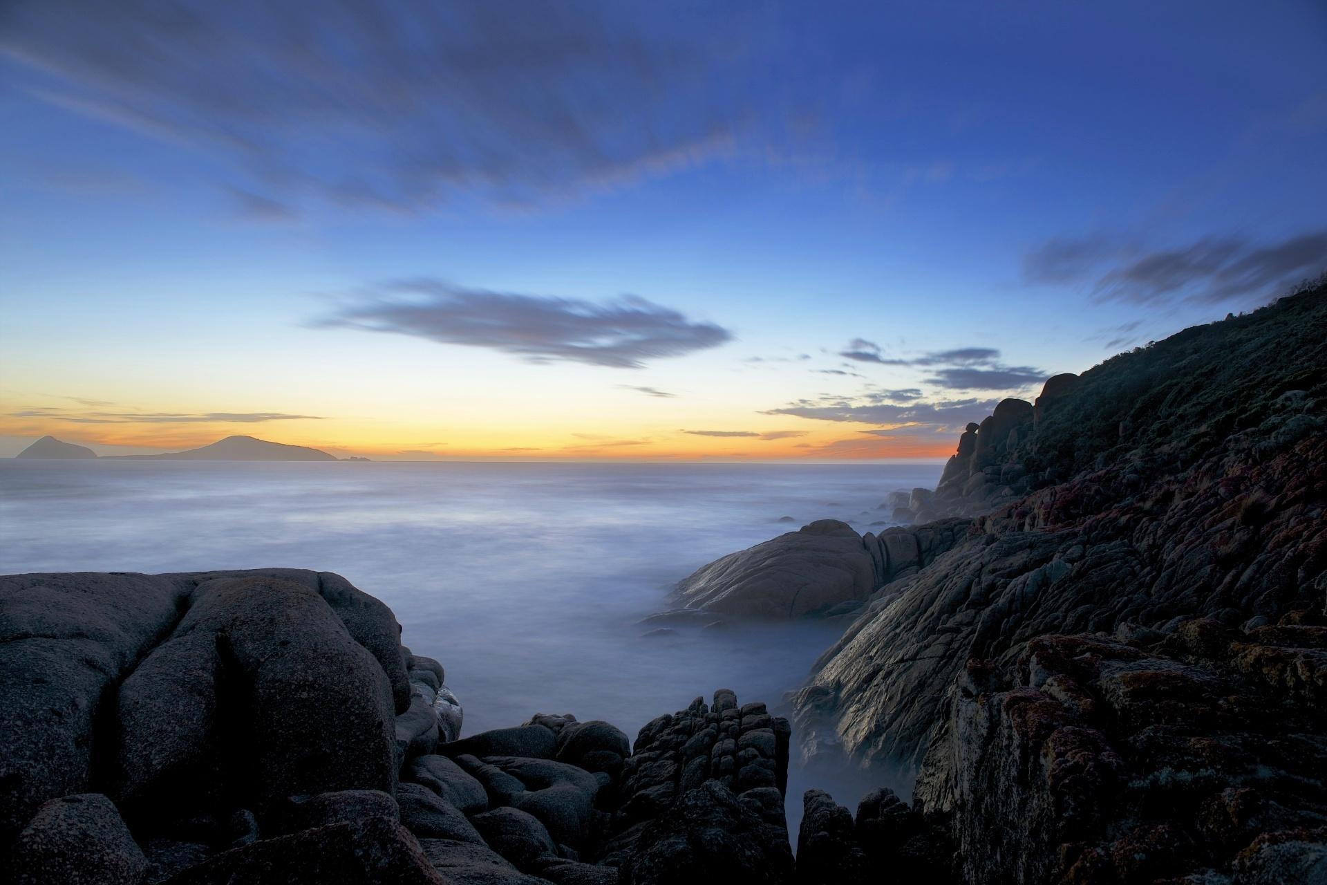 オーストラリア ウィルソンズ・プロモントリー国立公園のトワイライト・タイム