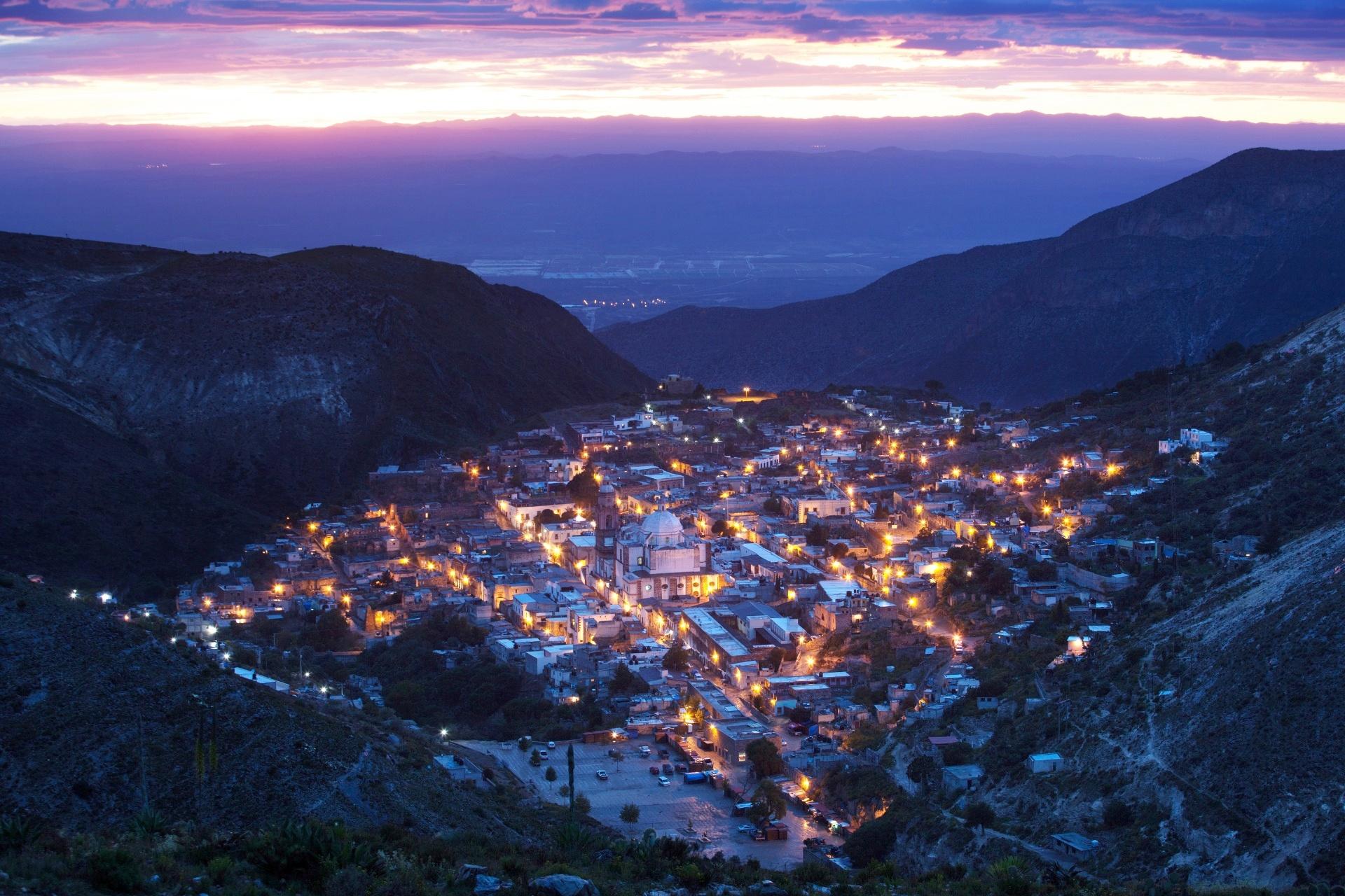 レアル・デ・カトルセの風景 メキシコの風景