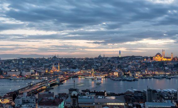 ガラタ塔から見るイスタンブールの風景 トルコの風景