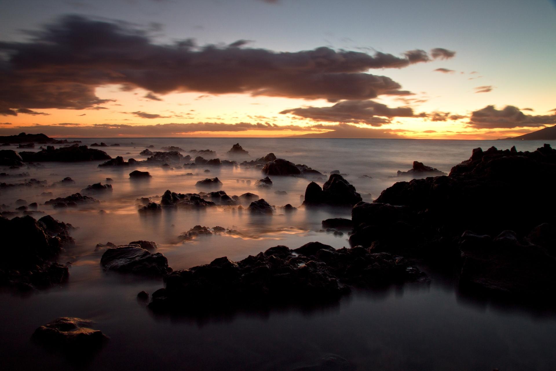 ハワイの夕景 ハワイの風景