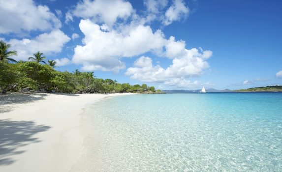 カリブ海の風景 アメリカ領ヴァージン諸島 セント・ジョン島