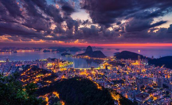 リオデジャネイロの美しい風景 ブラジルの風景