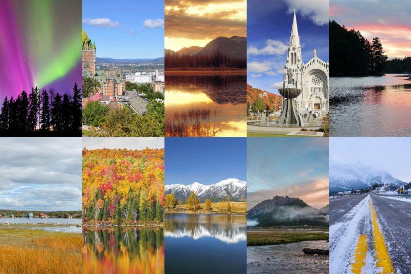 美しいカナダの風景 カナダの絶景
