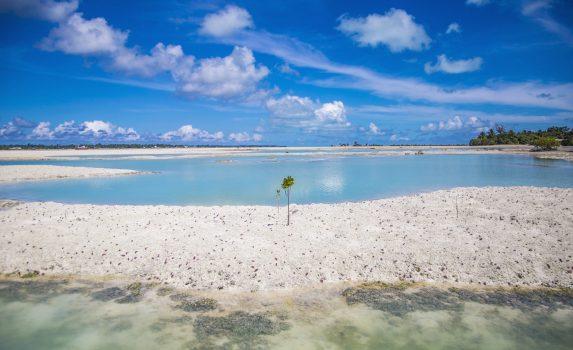 タラワの風景 キリバスの風景