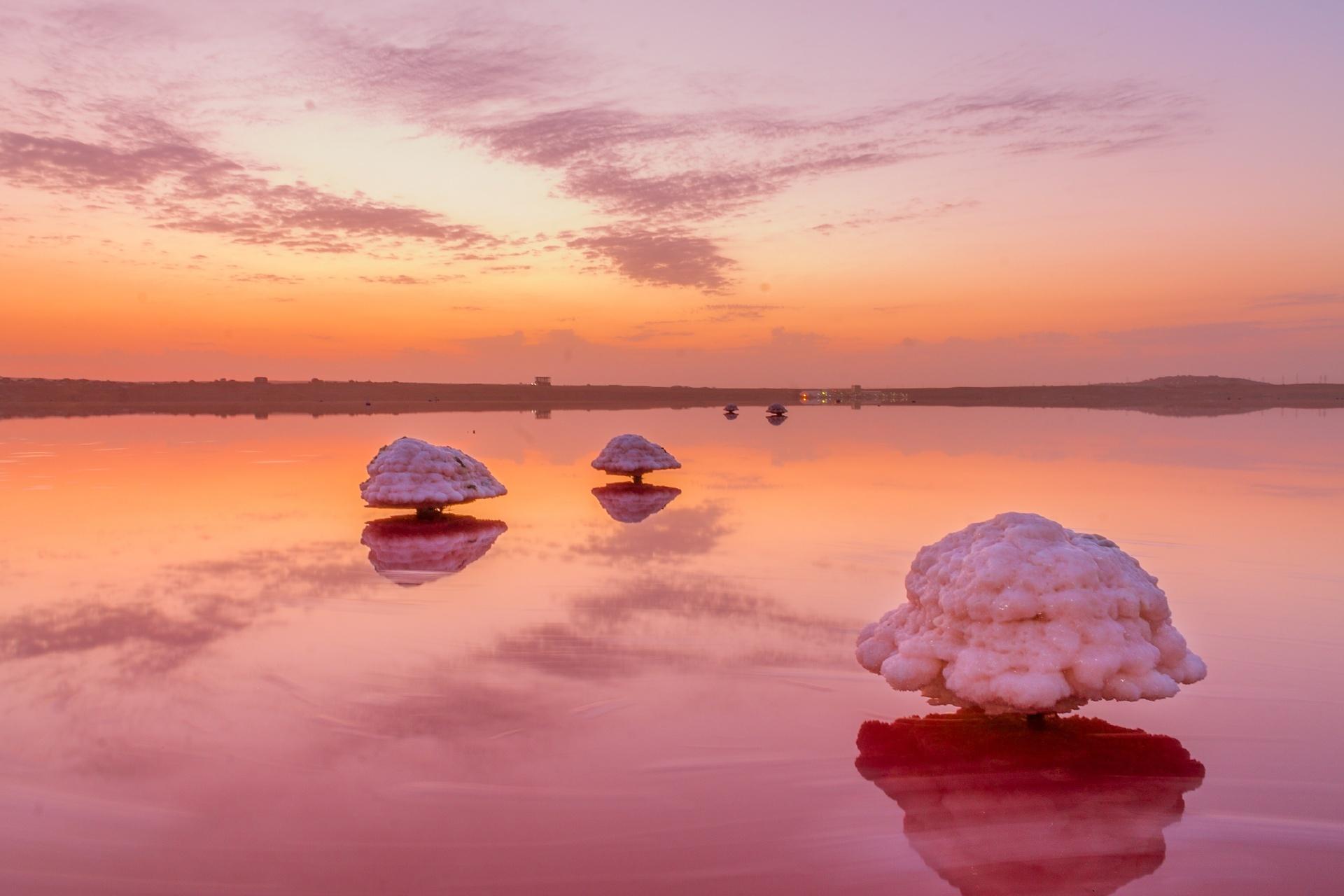 マサジルゴル(マサジル湖)の風景 アゼルバイジャンの風景