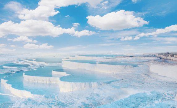 ヒエラポリス-パムッカレの風景 トルコの風景