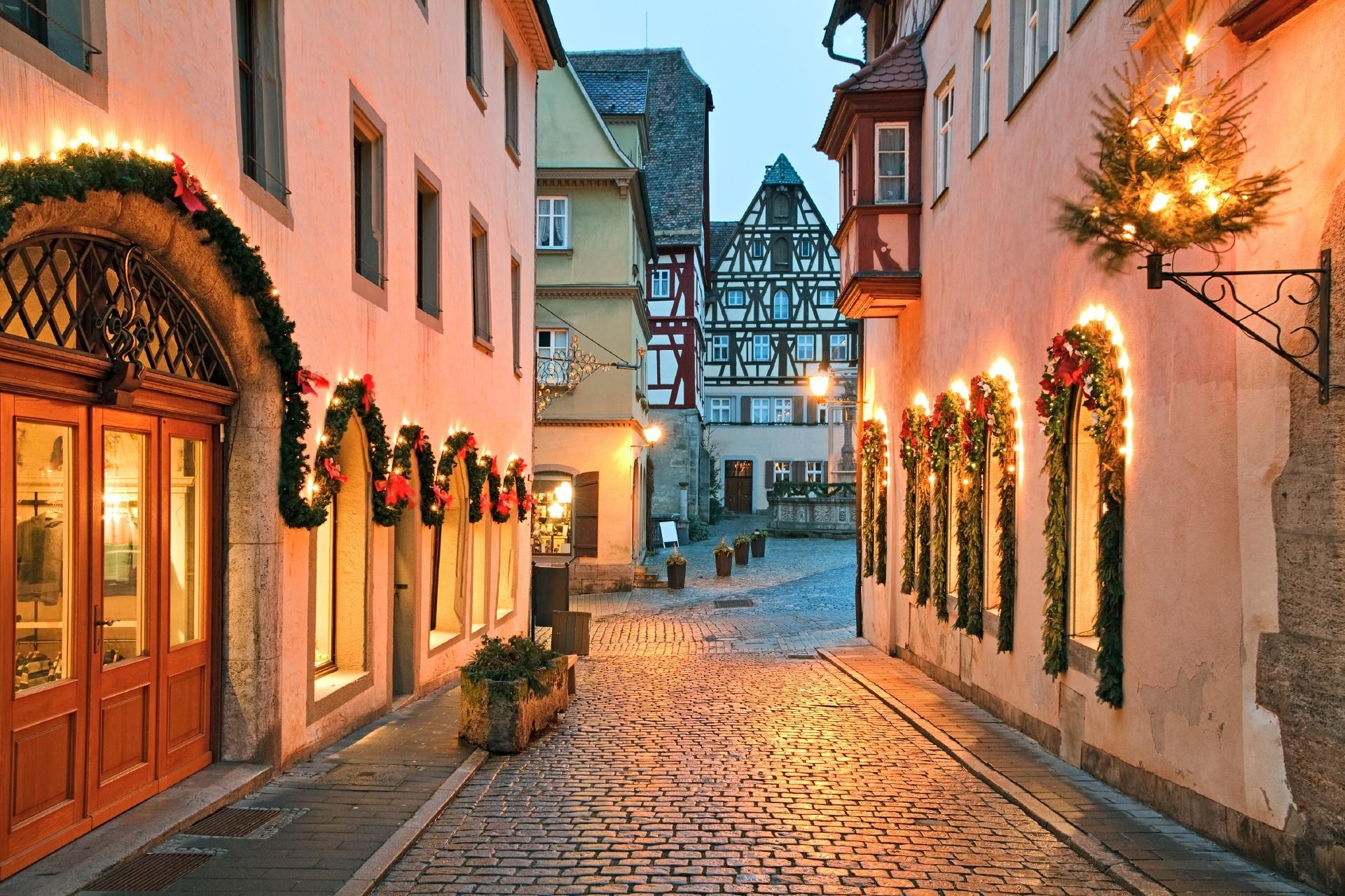 ローテンブルク・オプ・デア・タウバーの風景 ドイツの風景