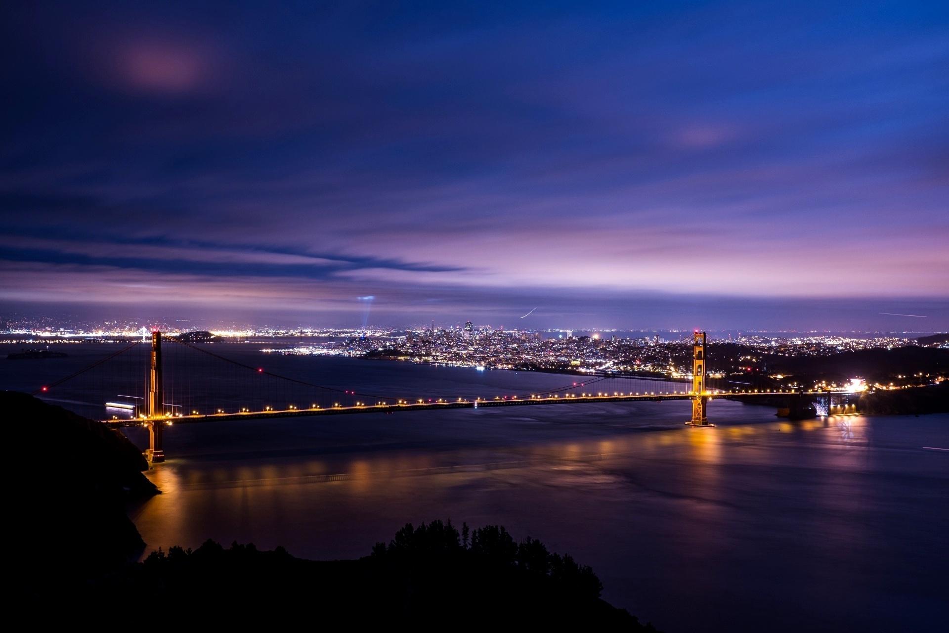 サンフランシスコの夜景 アメリカの風景