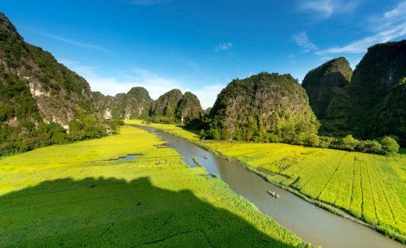タムコックの風景 ベトナムの風景