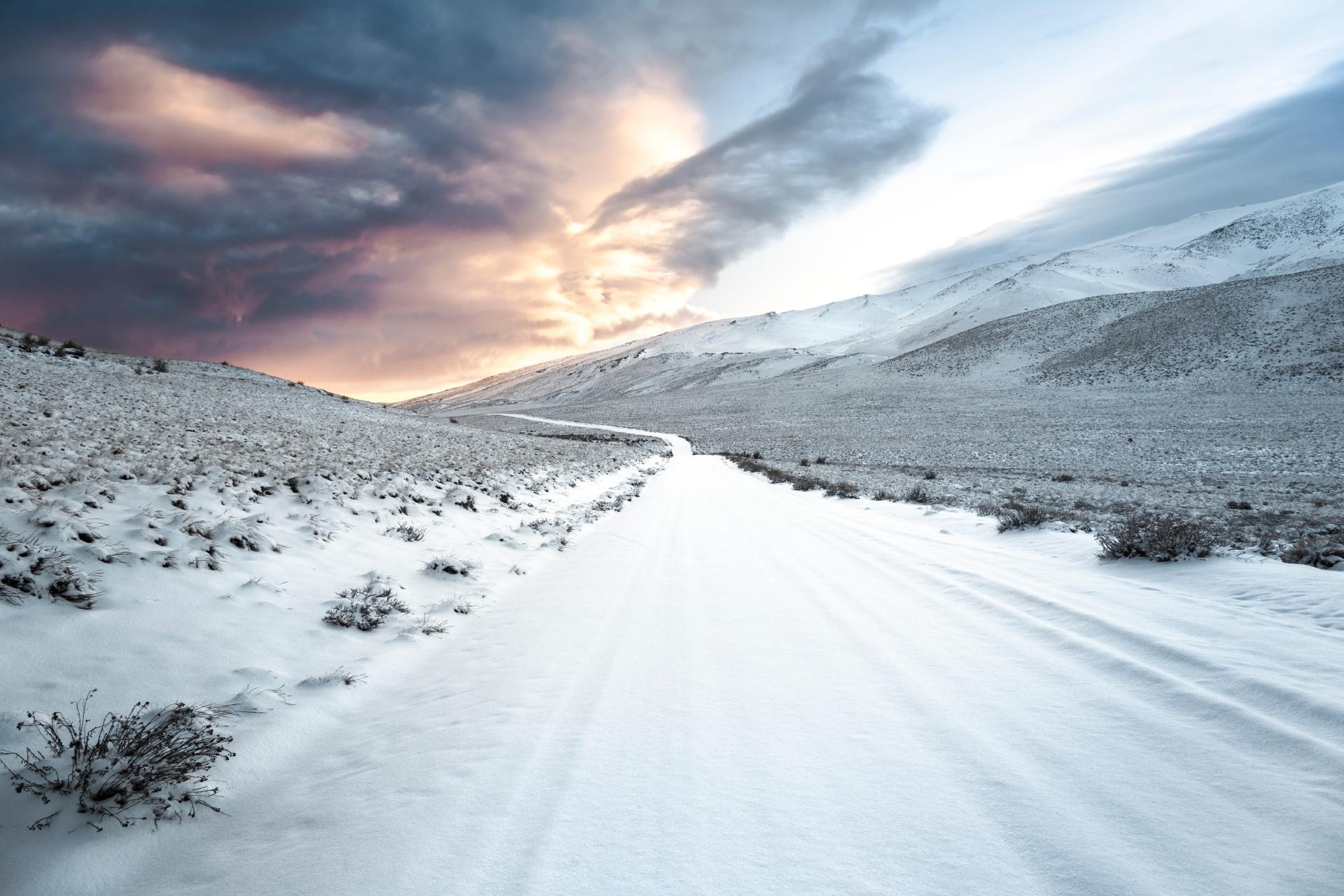 早朝のトロメン国立公園の風景 アルゼンチンの風景