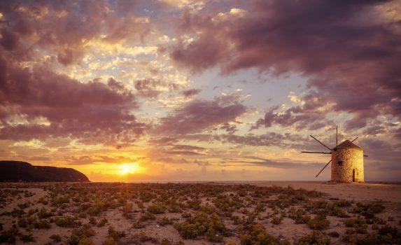 レフカダ島の風景 ギリシャの風景