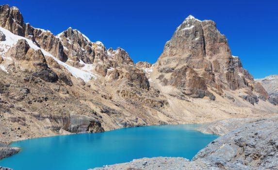 コルディジェラ・ウアイウアスの風景 ペルーの風景