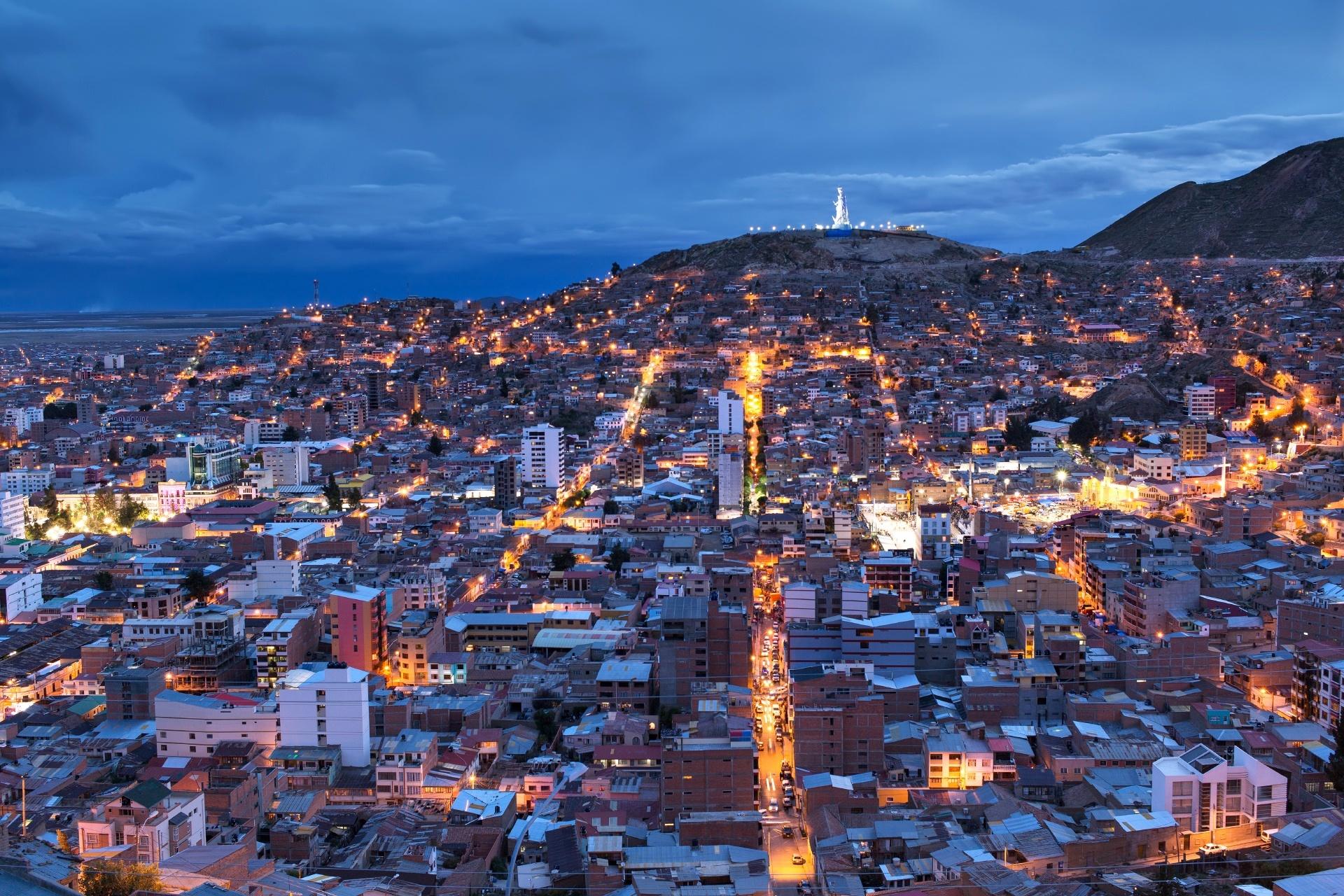 ボリビア オルロの風景 ボリビアの風景