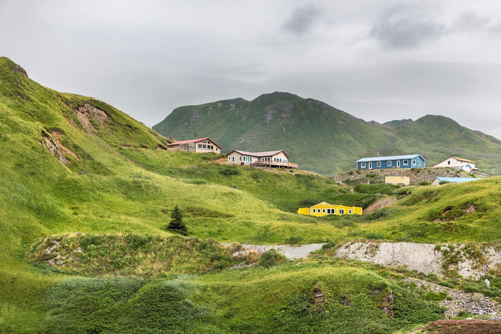 アラスカ ウナラスカの風景 アメリカの風景