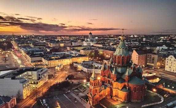 ヘルシンキの風景 フィンランドの風景