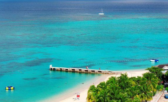 カリブ海の美しい風景 ジャマイカの風景