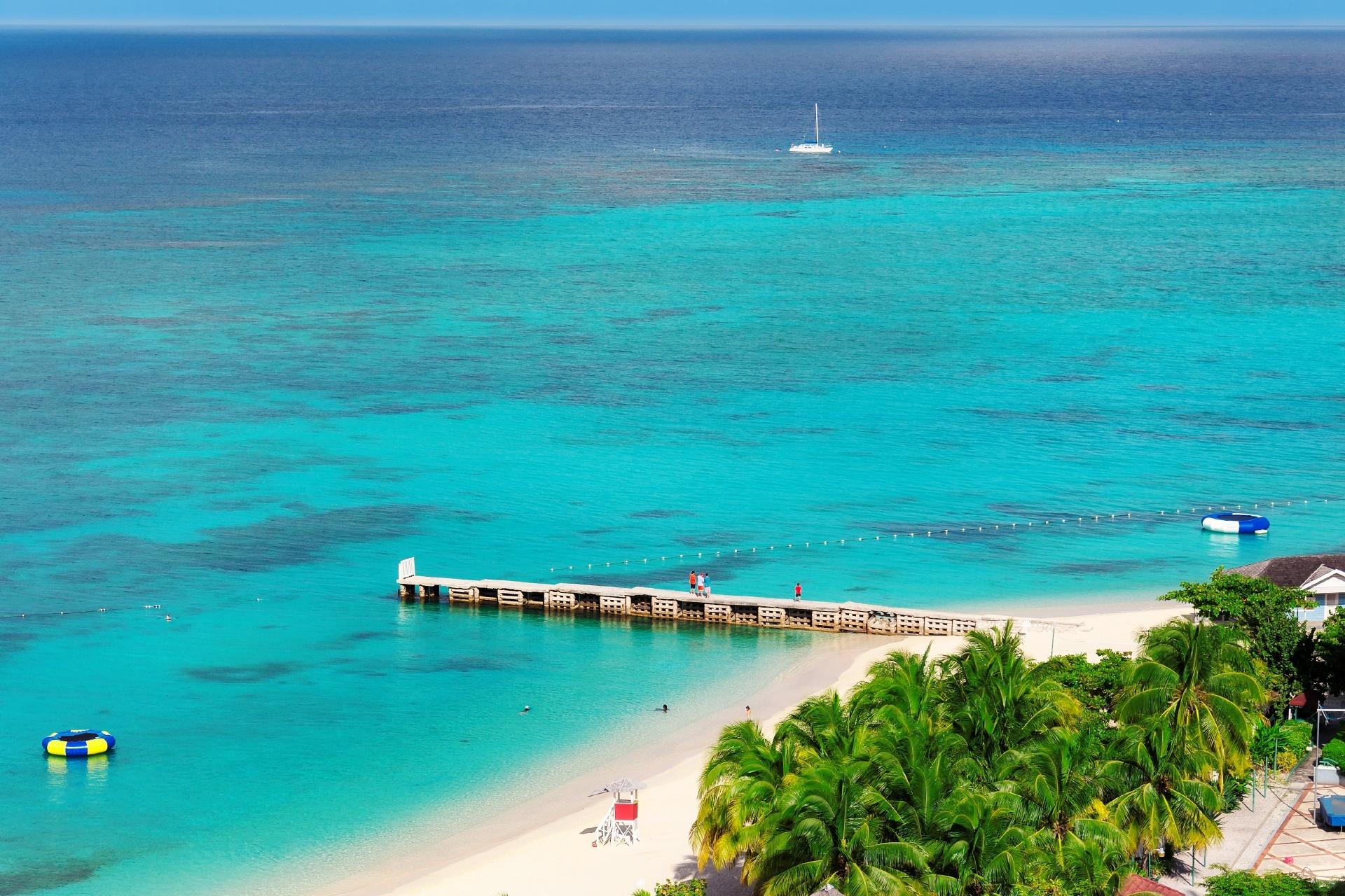 モンテゴ・ベイ カリブ海の美しい風景 ジャマイカの風景