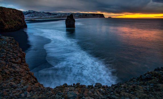 ヴァトンスネース アイスランドの風景