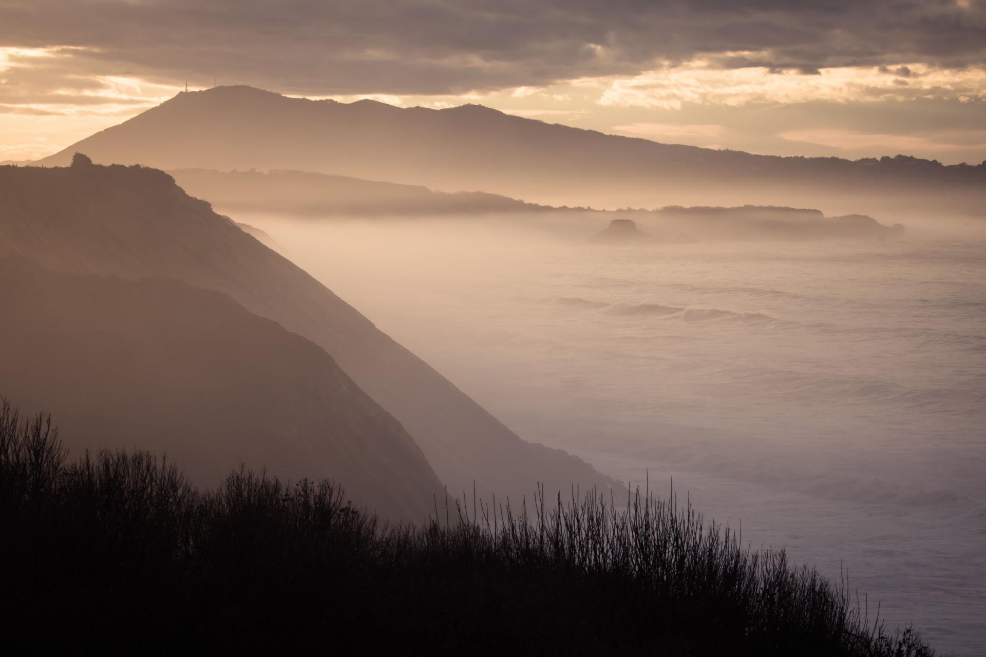 バスク地方の風景 フランスの風景