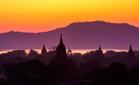 バガンの風景 ミャンマーの風景