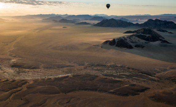 バルーンの旅 ナミビアの風景