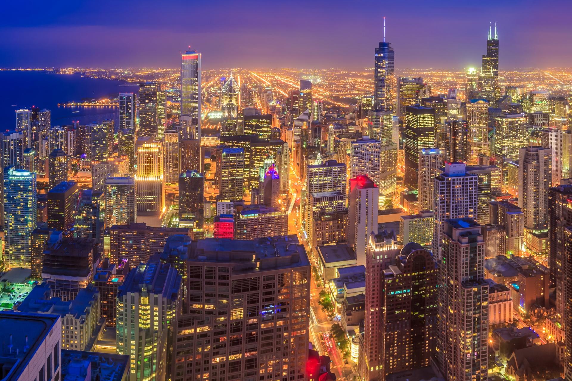 シカゴの風景 アメリカの風景