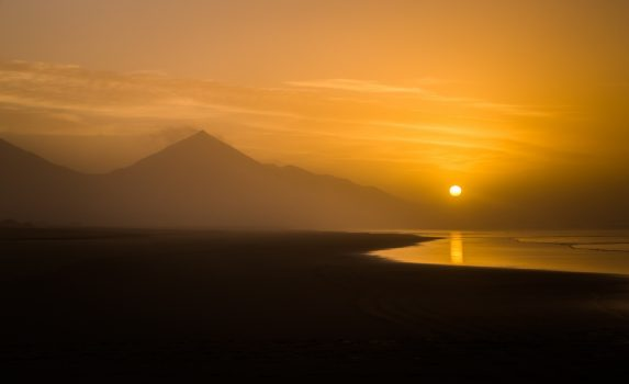 カナリア諸島の風景 スペインの風景