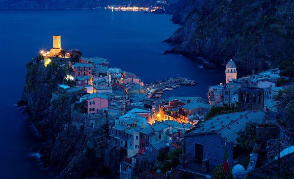 チンクエテッレの風景 イタリアの風景