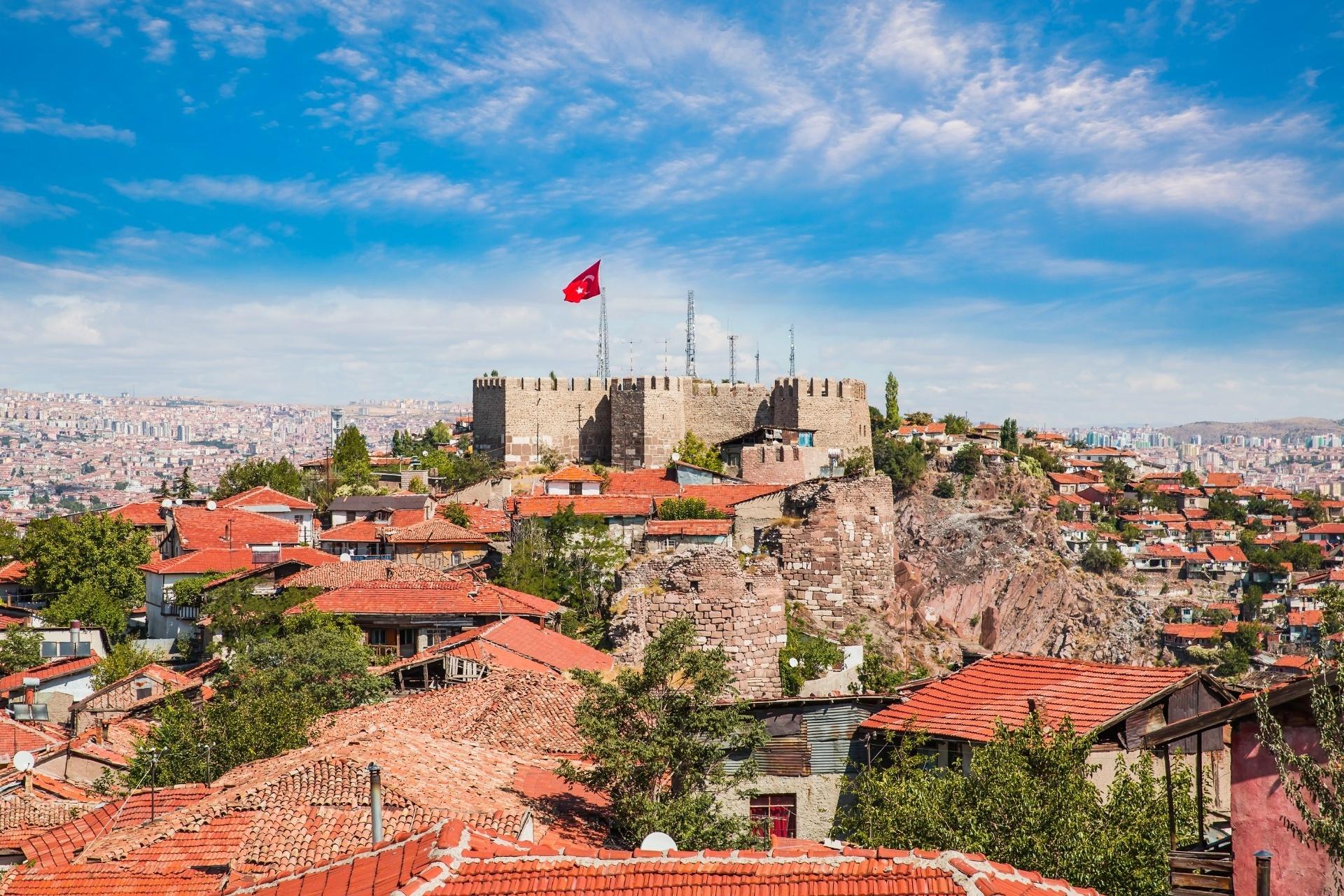 アンカラの風景 トルコの風景