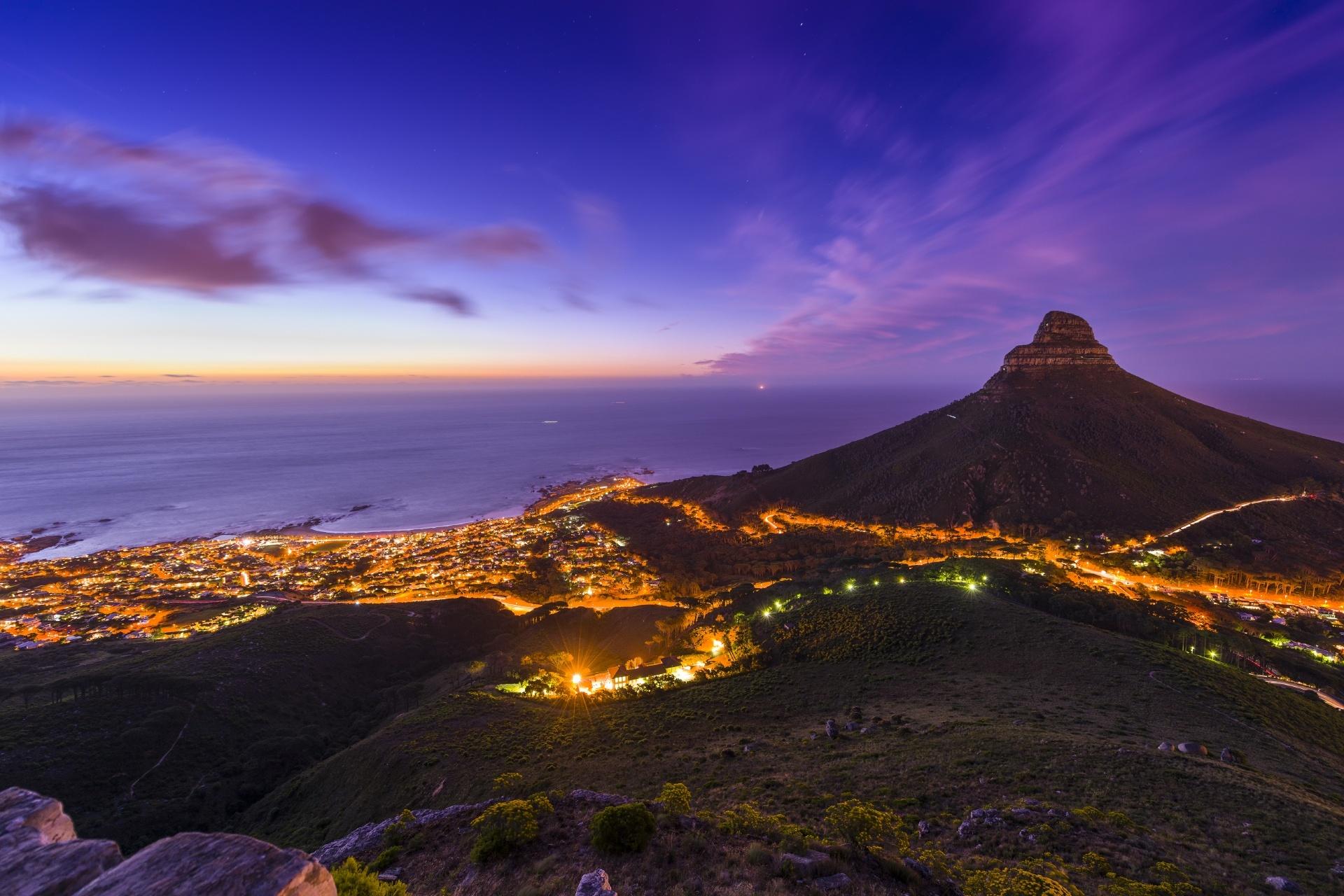 ケープタウンの風景 南アフリカの風景