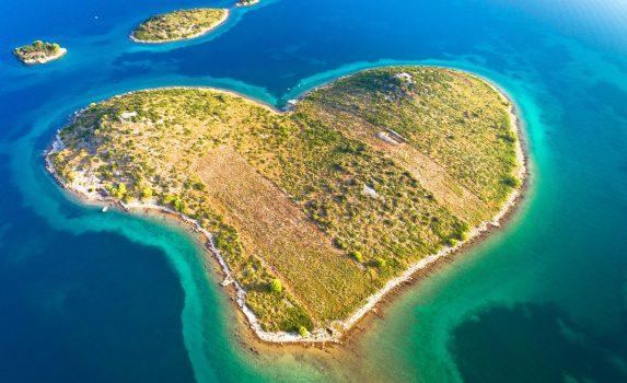 ガレシュニャク島の風景 クロアチアの風景