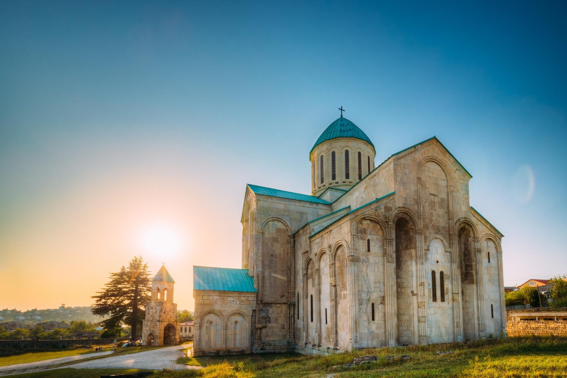 バグラティ大聖堂 ジョージアの風景
