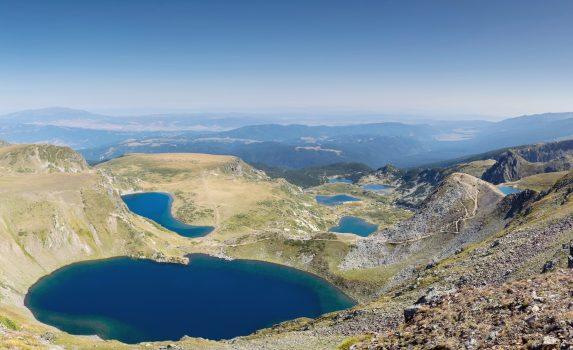 リラの七つの湖 ブルガリアの風景