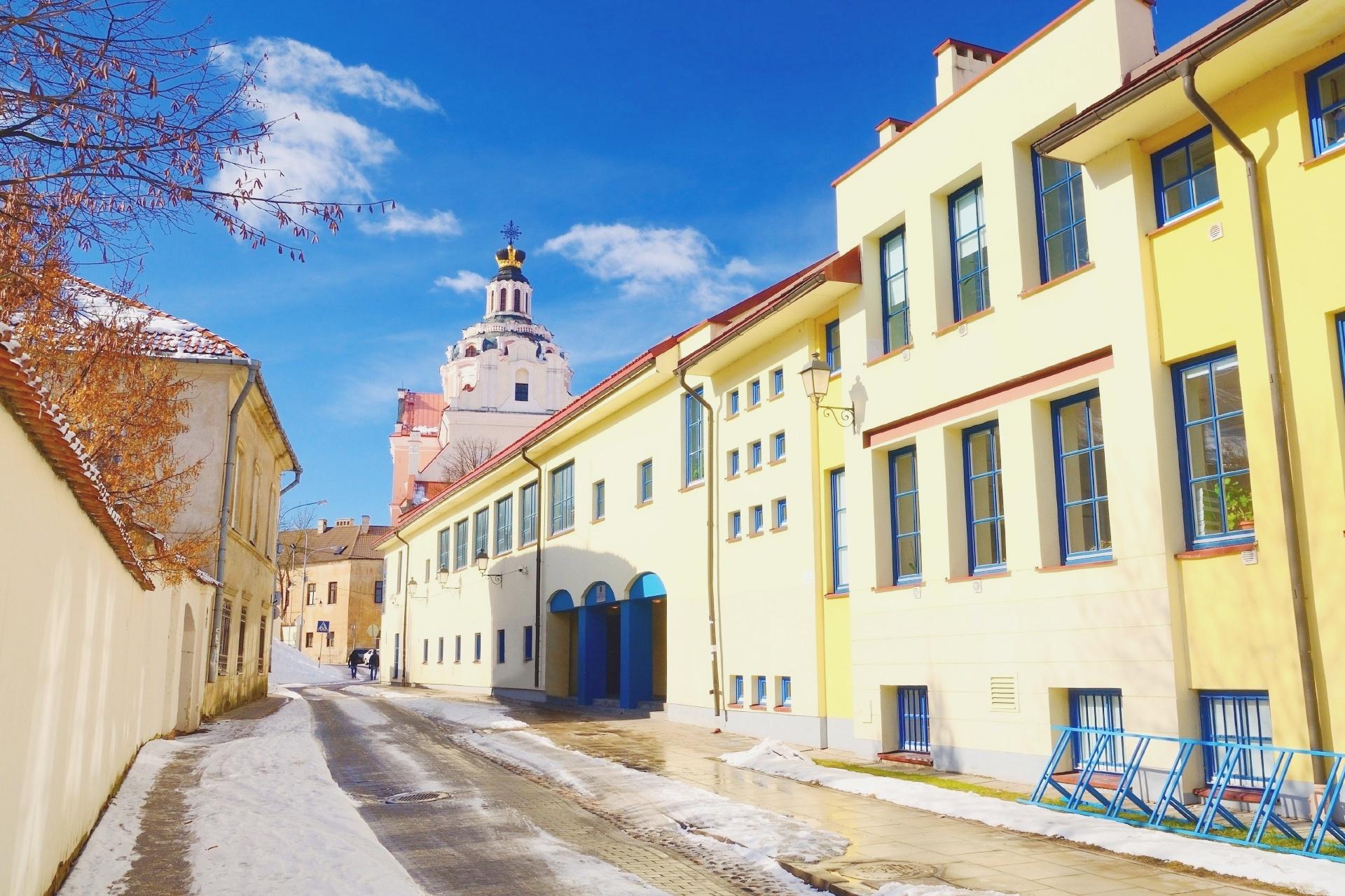 ヴィリニュス旧市街 リトアニアの風景